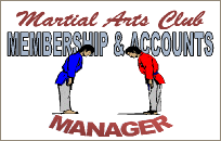 Martial Arts Club Manager